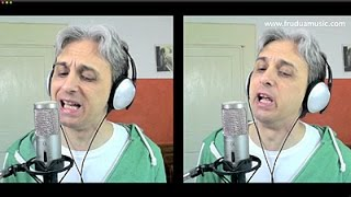 How to Sing I'm So Tired Beatles Cover Vocal Harmony