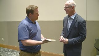 "Jim Morris of ""The Rookie"" fame visits Fort Wayne with inspirational message on 5/3/19"