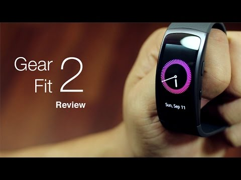 Samsung Gear Fit 2 Review and Specifications