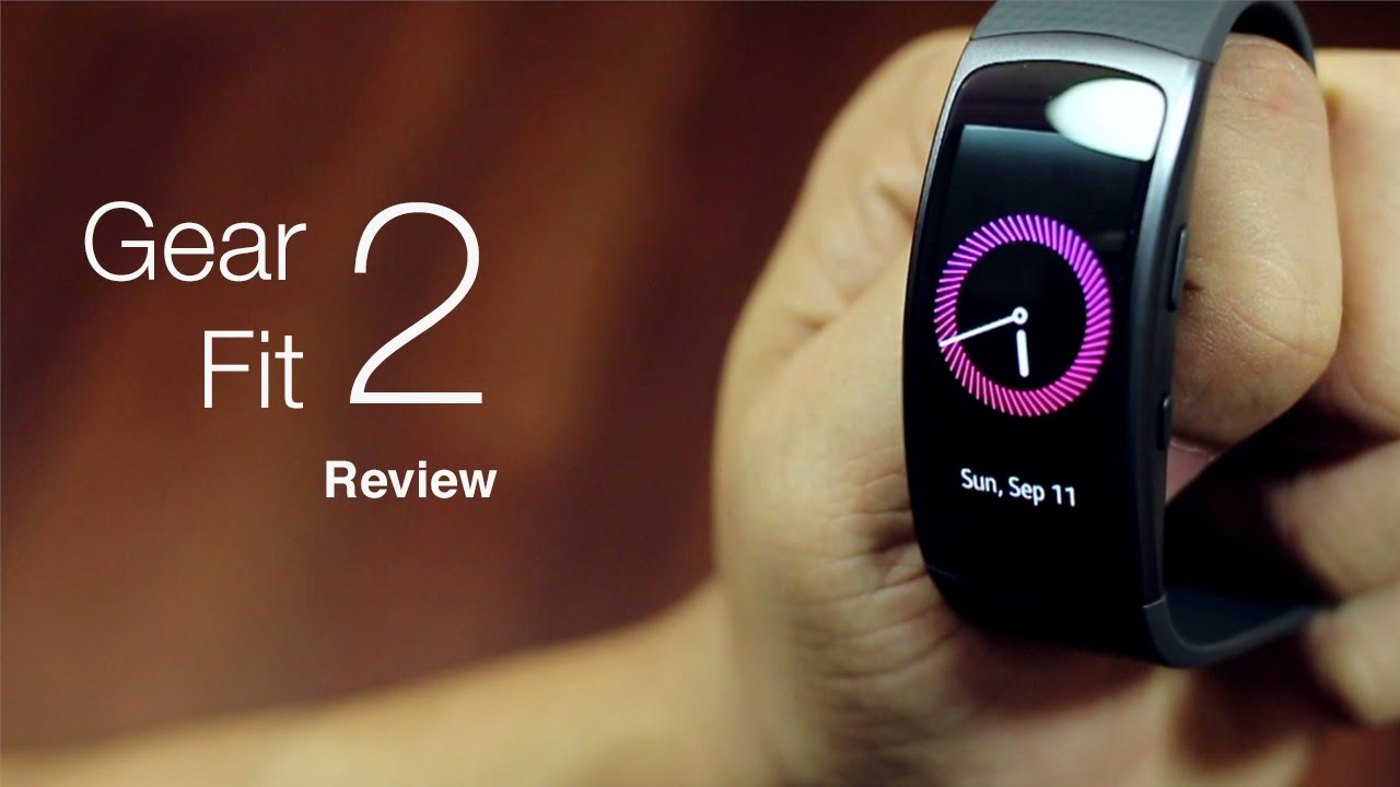 7d3ef1000 Samsung Gear Fit 2 Review and Specifications - YouTube