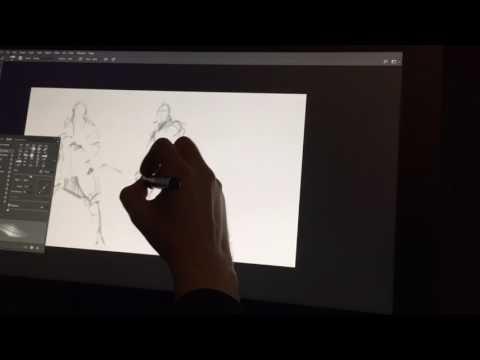 Digital character sketches