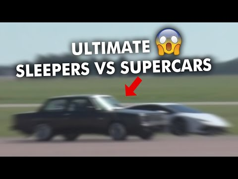 *INSANE* SLEEPERS VS SUPERCARS 2019 [MUST WATCH]