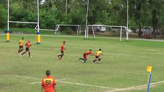 King's College Rugby Seven 2018 Semifinal U18 House 1 vs House 2