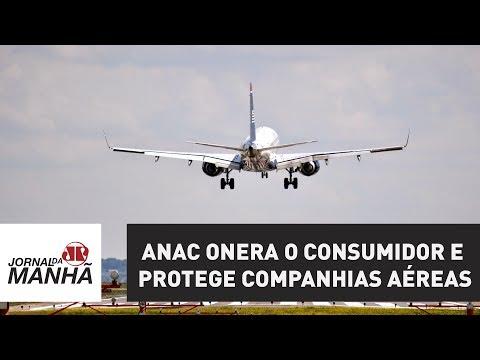 ANAC onera o consumidor e protege companhias aéreas | Jornal da Manhã