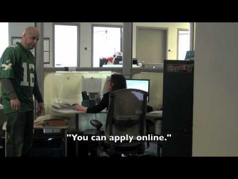 Teste Goes Job Hunting