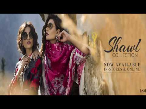 LSM Fabrics Winter Shawl Collection 2017 18 New Arrival