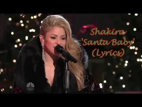 Shakira - Santa Baby [Lyrics]