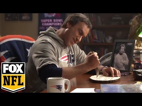 Rob Riggle writes letters as Bill Belichick for his Riggle