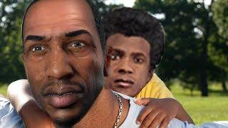 Is CJ Franklin's Dad in GTA 5?
