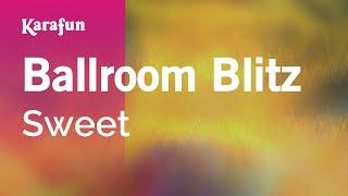 Karaoke Ballroom Blitz - Sweet *