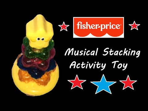 Fisher Price Children's Musical Flashing Shape Stacker Activity Toy