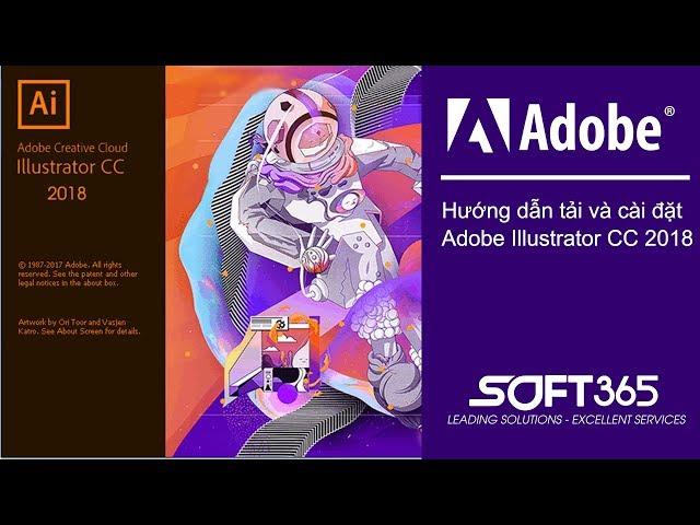 Hướng dẫn download và cài đặt Adobe Illustrator CC 2018