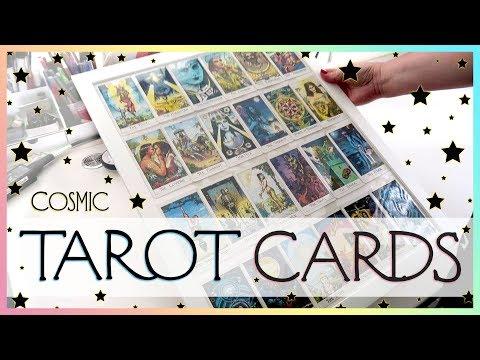 Framing Major Arcana Cosmic Tarot Cards