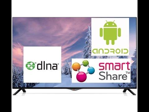 Установка Smart Share на телефон для телевизора LG