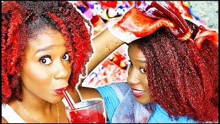 I Made REAL HAIR DYE from Kool Aid!! *not clickbait!!*