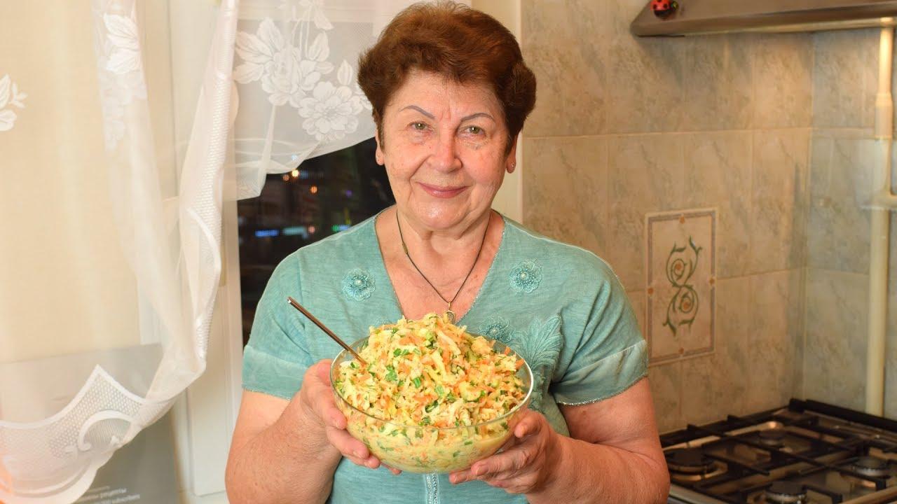 БАБУШКИН РЕЦЕПТ Правильный витаминный салат из редьки с морковью, яблоком и перцем! Мамины рецепты