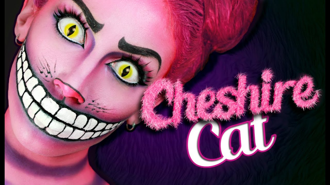 Cheshire Cat Makeup Tutorial Youtube