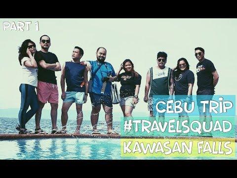 Moalboal, Cebu Trip 2017 Part 1 | Kawasan Falls | Travel Vlog #1 |  Gabby Lim's Vlog