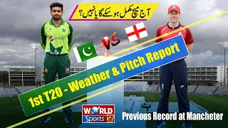 Pakistan vs England 1st T20   Weather update today of Manchester