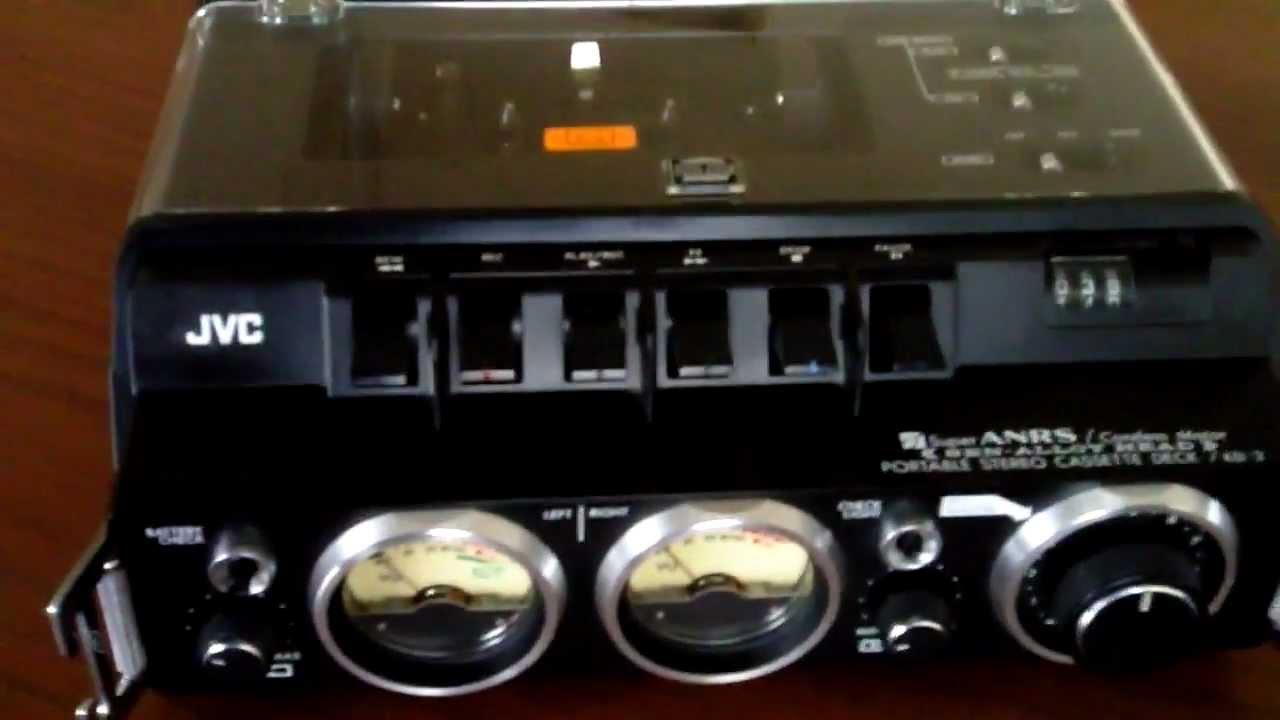 Jvc Kd 2 Vintage Portable Stereo Cassette Deck