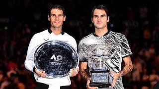 Roger Federer vs Rafeal Nadal 2017 Australian Open Highlights Extended