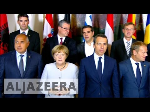 EU leaders tackle refugee crises in Vienna meeting