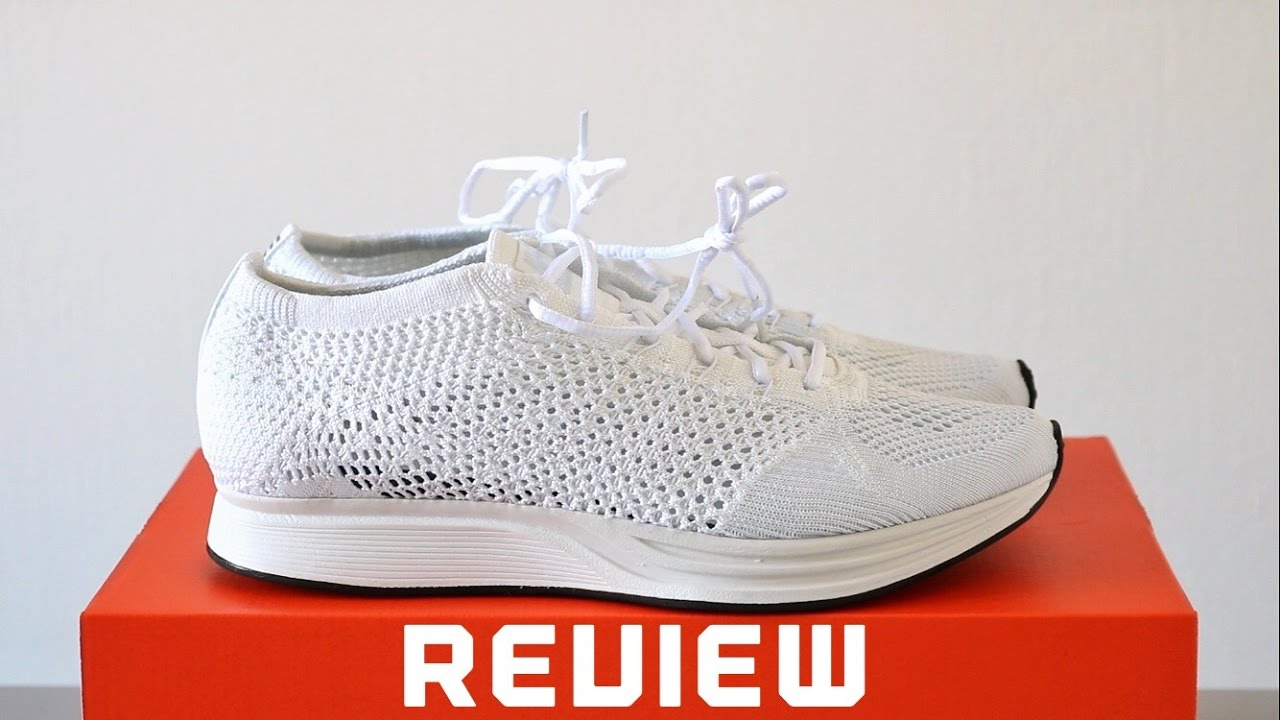 Review  NIKE FLYKNIT RACER WHITE SAIL