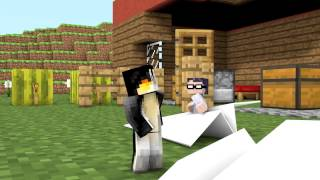 Babies Learn Sharing is Caring Animated! (Minecraft Animation)