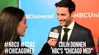 Colin Donnell #ChicagoMed at NBCUniversal's Winter 2016 Press TCA Tour #NBCU #TCAs