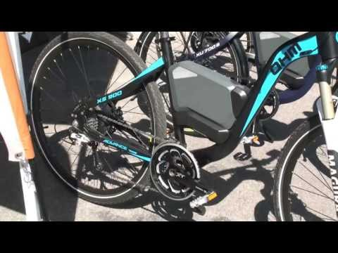 OHM Cycles XU 450, XU 700B, and XS 900 Electric Bikes at Int