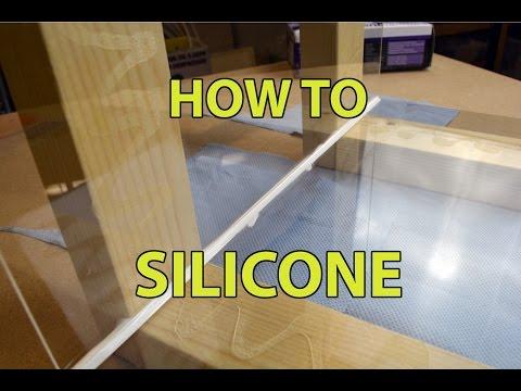 How to use silicone / caulk