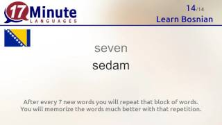 Learn Bosnian (free language course video)