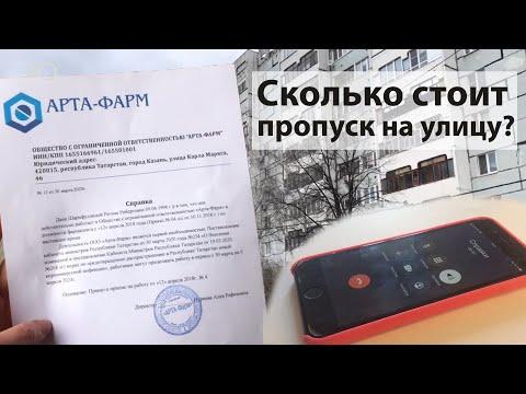 Сколько стоит пропуск на улицу: в Казани продают справки, разрешающие передвижение по городу