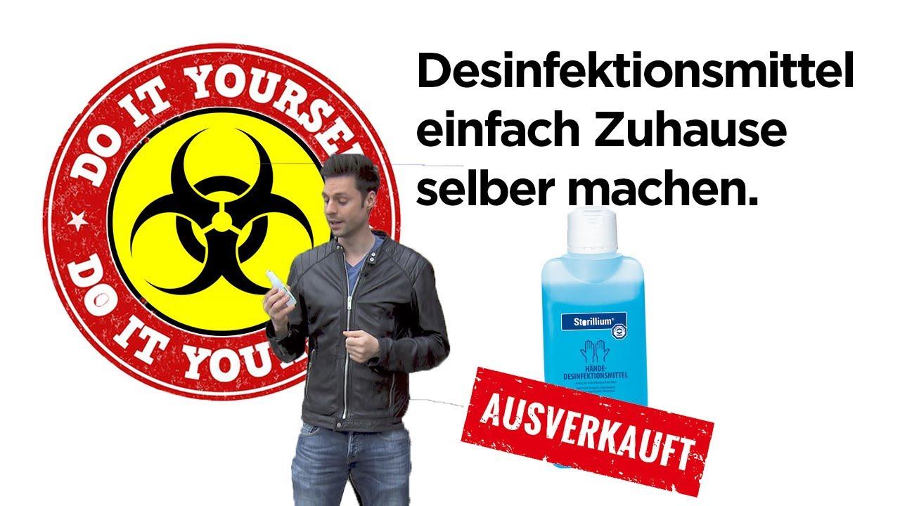 Desinfektionsmittel Selber