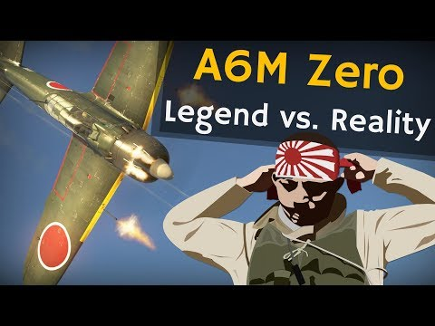 ⚜ | A6M Zero - Legend vs. Reality