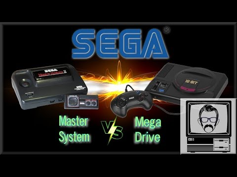 Sega Mega Drive VS. Master System | Nostalgia Nerd