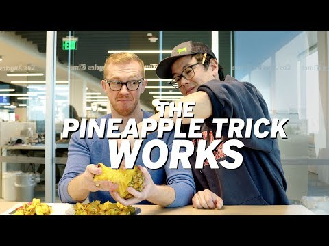 The pineapple pull-apart trick WORKS