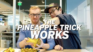 The pineapple pull-apart trİck WORKS