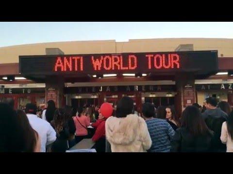 RIHANNA - ANTI WORLD TOUR, SAN DIEGO COMPILATION.