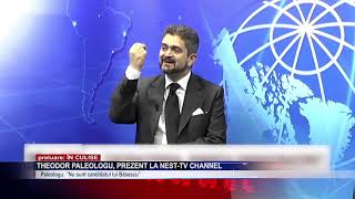 Theodor Paleologu, prezent la NEst TV Channel
