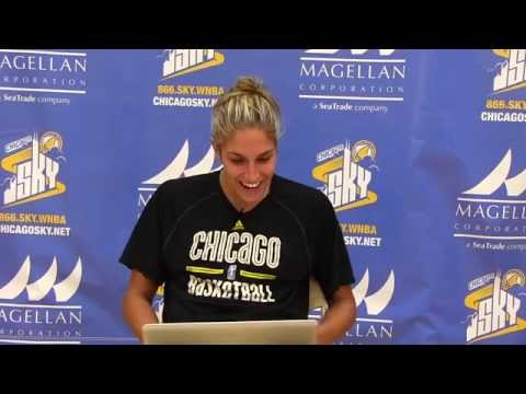 Delle Donne reads Mean Tweets following Historic 45pt game