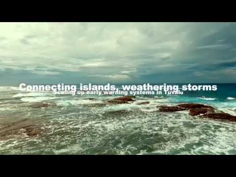 Connecting islands, weathering storms: scaling up early warning systems in Tuvalu