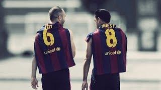 Xavi & Iniesta ● The best of their kind ● 2008-2013 ● Trailer