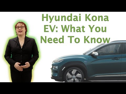 2018 Hyundai Kona EV: What You Need To Know