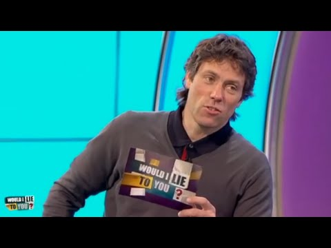 Did John Bishop start each day at his job with a motivational ?  Would I Lie to You?  CC