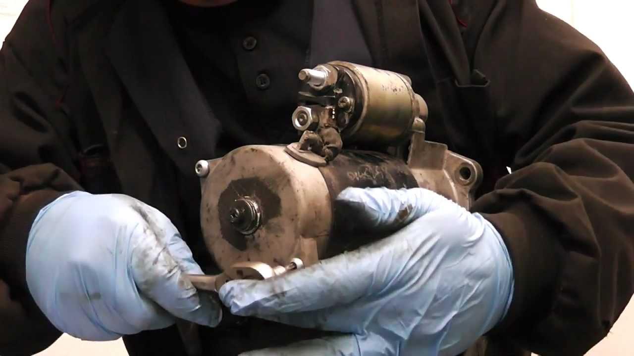 small resolution of truck tractor starter motor diagnose adn repair bosch 230 231 series youtube