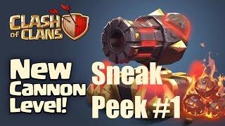 CLASH OF CLANS: Sneak Peek #1 - Kanone lvl 13 ✭ Let's Play Clash of Clans [Deutsch/German HD]