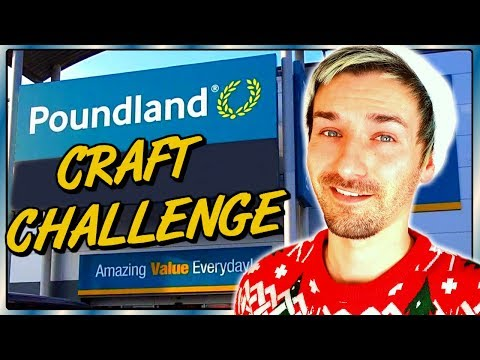 pound-shop-/-dollar-store-craft-challenge- -poundland-diy,-arts-and-crafts
