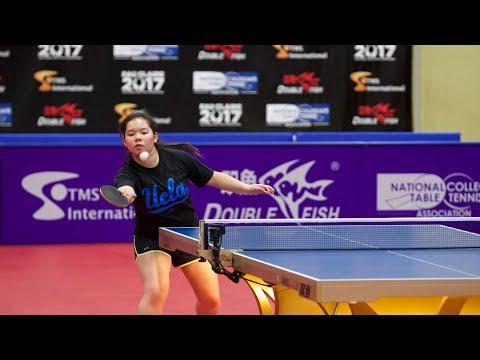 2018 iSET College Table Tennis Championships - Singles Elimination Rounds (Day 3) - Table 4