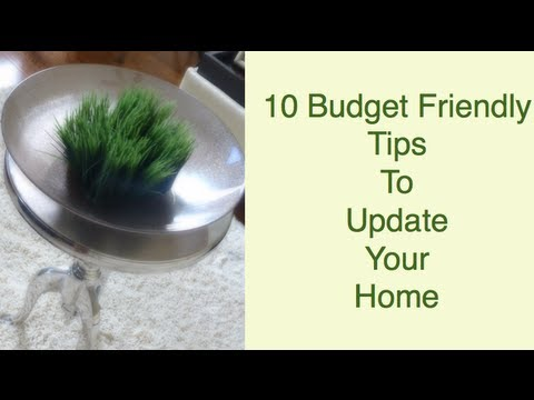 diy 10 budget friendly tips to update your home   youtube